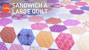 Easy Way to Baste (Sandwich) a Large Quilt | Quilting Tutorial ... & Easy Way to Baste (Sandwich) a Large Quilt | Quilting Tutorial with Amy  Gibson Adamdwight.com