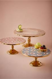 Decorative Cake Stands English Tea Cake Stand In Sale Dccor Bhldn