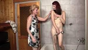 Red Head Lesbian Shower