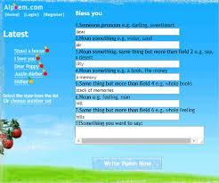 5 best rhyming poem generator s