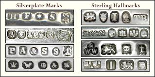 Silver Plate Pattern Chart British Silver Plate Marks Encyclopedia Of Silver Marks