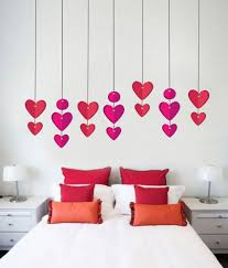 impression wall hanging hearts wall sticker