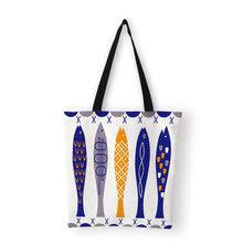 Shop Canvas Bag Cotton Woman Geometric - Great deals on ...