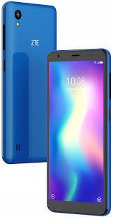 Мобильный <b>телефон ZTE Blade</b> A5 2019 2/16GB (синий)