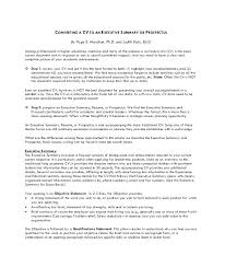 Career Summary Examples For Resume Good Resume Summary Examples ...