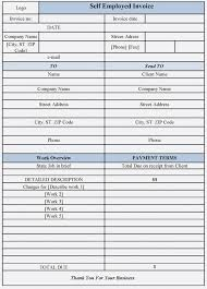 Employee Invoice Template Free Ten Unexpected Ways Job Invoice And Resume Template Ideas