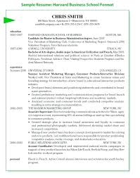 Mba Resume Template Resume Template Simply College Business Resume ...