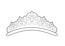 Small Picture Beautiful tiara coloring page for girls printable free Things