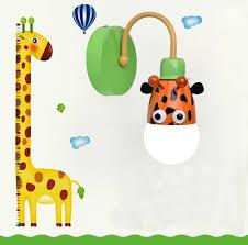 por kids wall lights lots. Aliexpresscom Buy Creative Animals Wall Sconce For Kids Por Lights Lots D