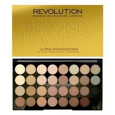 revolution ultra 32 shade eyeshadow palette beyond flawless