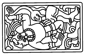 Mayan Coloring Pages At Getdrawingscom Free For Personal Use