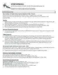 New Teacher Resume Resume Format Of Teacher Music Teacher Resume