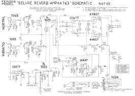schematics blackface deluxe reverb layout notes aa763 notes on the aa763 vs ab763