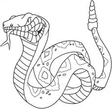 Small Picture Snake Coloring Page Coloring Kids Snake Coloring Pages 12102