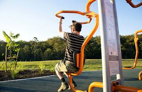al exercise equipment in council parks by brisbane city council
