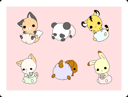 cute anime chibi characters animals. Chibi Characters Images Animals HD Wallpaper And Background Photos To Cute Anime Fanpop