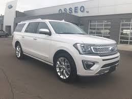 2018 ford expedition max for sale. new 2018 ford expedition max platinum suv in osseo, wi for sale