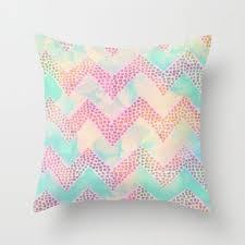 pastel throw pillows. Perfect Pillows Little Squares Chevron  Pastel Throw Pillow By Schatzi Brown 2000 And Pillows