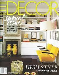 Design And Decor Magazine imagazines prepares a list with the most read interior design 1