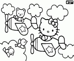 Kleurplaten Kerstmis Hello Kitty