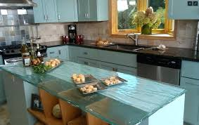 recycled glass countertops reviews white pearl