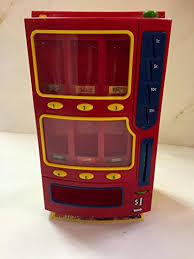 Toys For Vending Machines Interesting Amazon MM Toy Mini Candy Vending Machine Plastic 48 Bank MM
