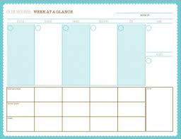 week at a glance calendar week at a glance calendar template costumepartyrun
