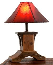 rustic lighting for cabins. handcrafted from reclaimed barnwood for a unique rustic elegant table lamp ranch camp western and cabin decors lighting cabins
