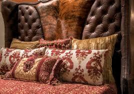 red cheetah bedding set