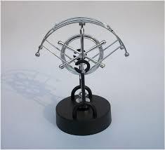 perpetual instrument magnetic wiggler swing newton rotating electromagnetic pendulum office desktop decoration toy kids gifts
