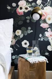 Pink And Black Bedroom Wallpaper 17 Best Ideas About Black Floral Wallpaper On Pinterest Floral
