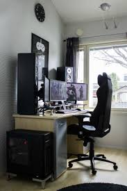 home office gaming computer. minimal desks simple workspaces interior design photo office workspaceoffice spaceshome home gaming computer