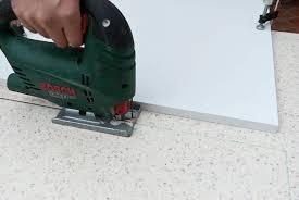 cutting laminate countertop