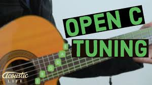 How To Play Guitar In Open C Tuning