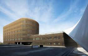 wooden office buildings. Sustainable Design, Green Office, Architecture, Le Galilée, Studio Wooden Office Buildings T