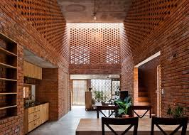 Perforated Brick Wall Design 10 Of The Most Popular Brick Interiors On Dezeens Pinterest