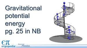 1 gravitational potential energy pg 25 in nb