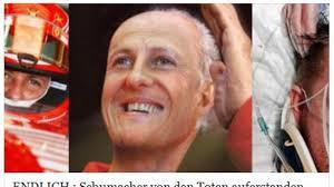 His ski accident came just over a year after he retired from f1 in 2012. Michael Schumacher Schumi Von Den Toten Auferstanden Das Steckt Dahinter News De