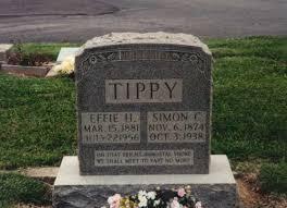Lightner Memorial Cemetery, [Simon and Effie (Zimmerman) Tippy ]