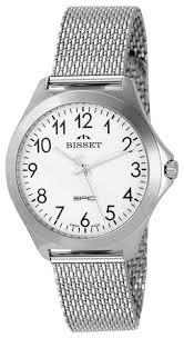 Наручные <b>часы BISSET BSDE49SAWX03BX</b> — купить по ...