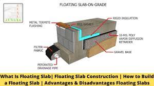 floating slab construction