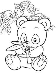 Small Picture Panda coloring pages for kids ColoringStar