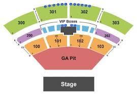 The Pavilion At Toyota Music Factory Seating Chart The Pavilion At Toyota Music Factory Tickets And The
