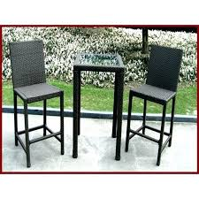 patio table set bar height table chairs enchanting outdoor bistro table set bar height with