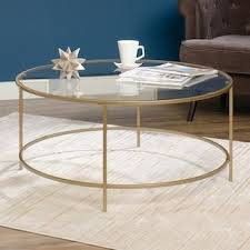 See more ideas about coffee station, coffee, home coffee stations. Sauder Woodworking Gold Finish Round Coffee Table Kohls Coffee Table Round Glass Coffee Table Luxury Coffee Table
