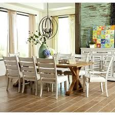 trisha yearwood home collection by klaussner ing home 9 pc dining set