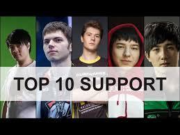 top 10 support player dota 2 youtube