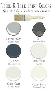 A Interior Paint Favorite Tried And True Paint Colors