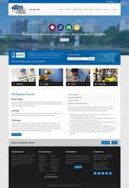 Web Designer Express Custom Web Design For Kti Express Courier In Huntsville