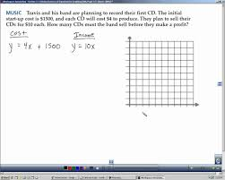 algebra 2 section 3 1 solving systems of equations by graphing